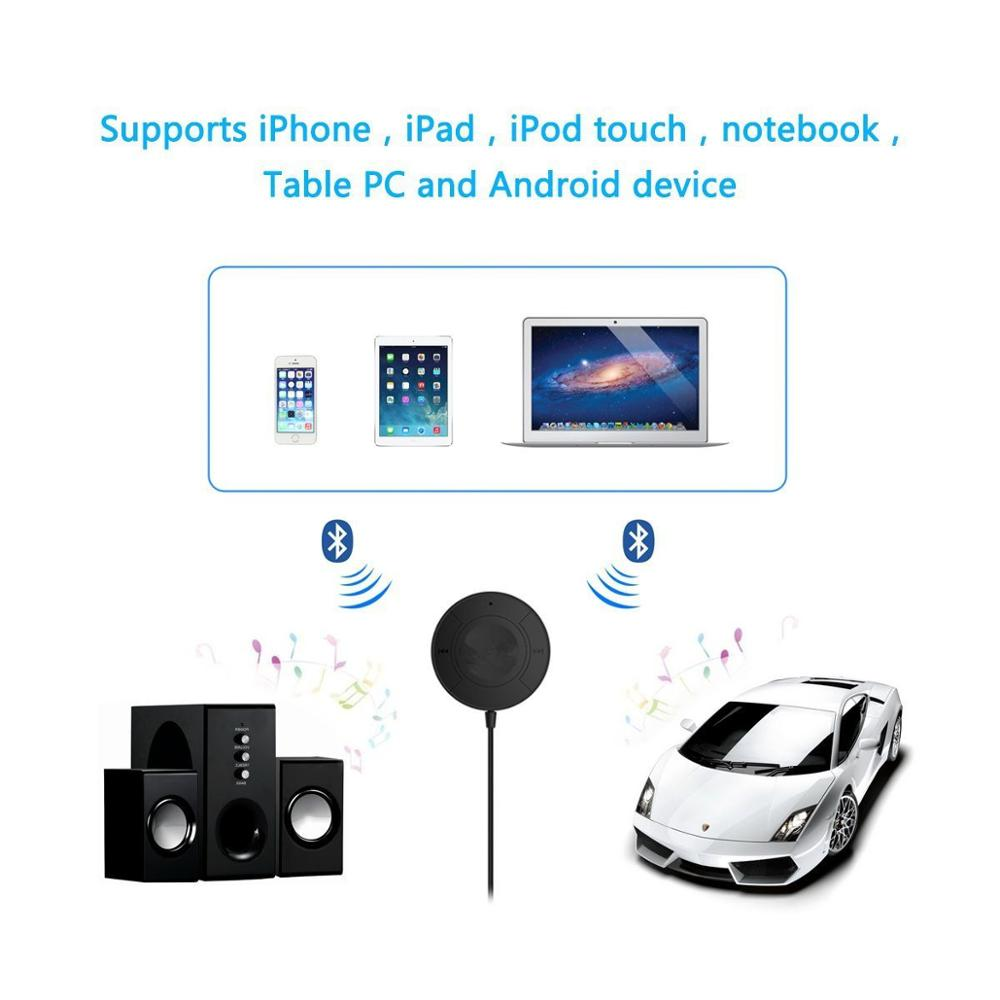 Adaptor bluetooth car kit receiver auto aux jack 3.5 alimentare usb 2.0