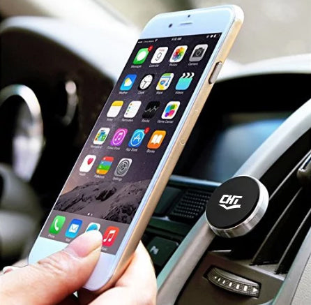 Suport telefon auto magnetic CHT, Silver