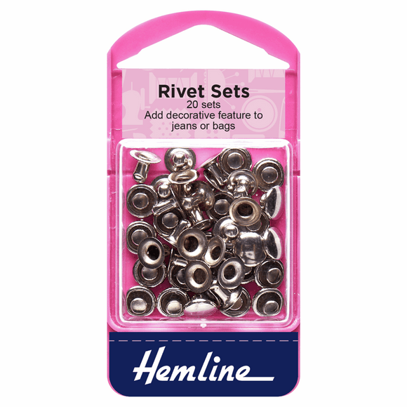 Jeans rivets 20 sets