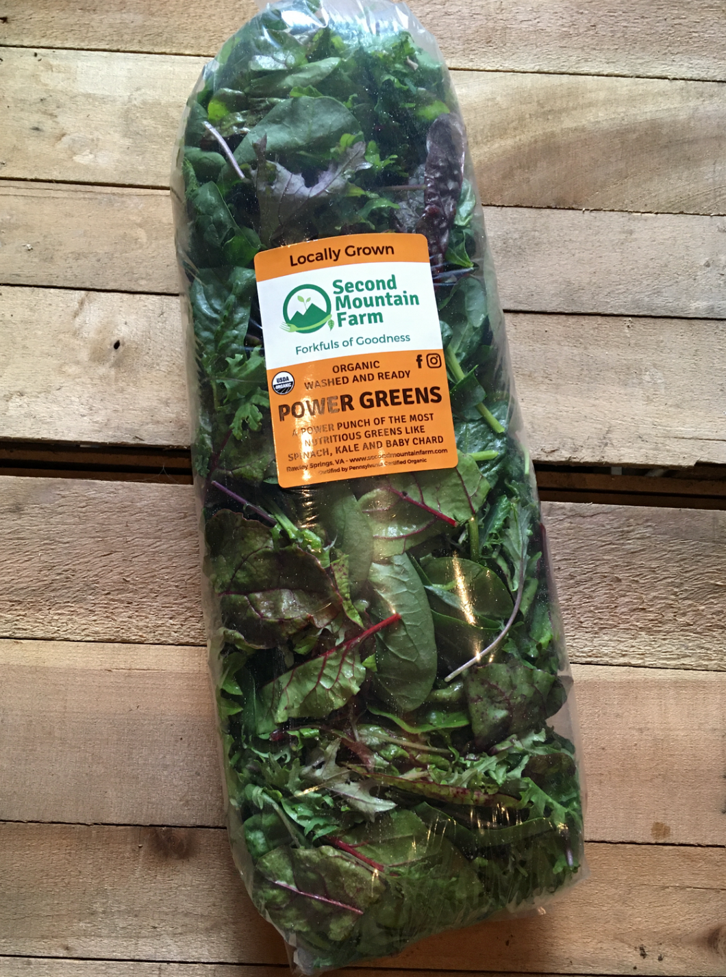 Pound of Power Greens - Wednesday 10/21