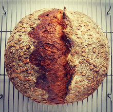 Load image into Gallery viewer, Brown Rice & Sesame Sourdough Boule- Friday 2/26