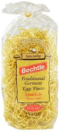 Bechtle Traditional German Egg Pasta