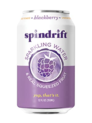 Spindrift Blackberry Sparkling Water