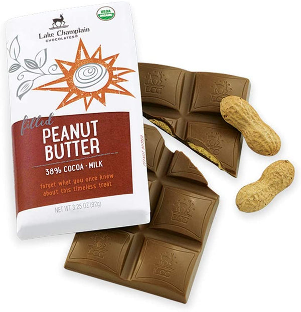 Lake Champlain Peanut Butter Filled Milk Chocolate Bar