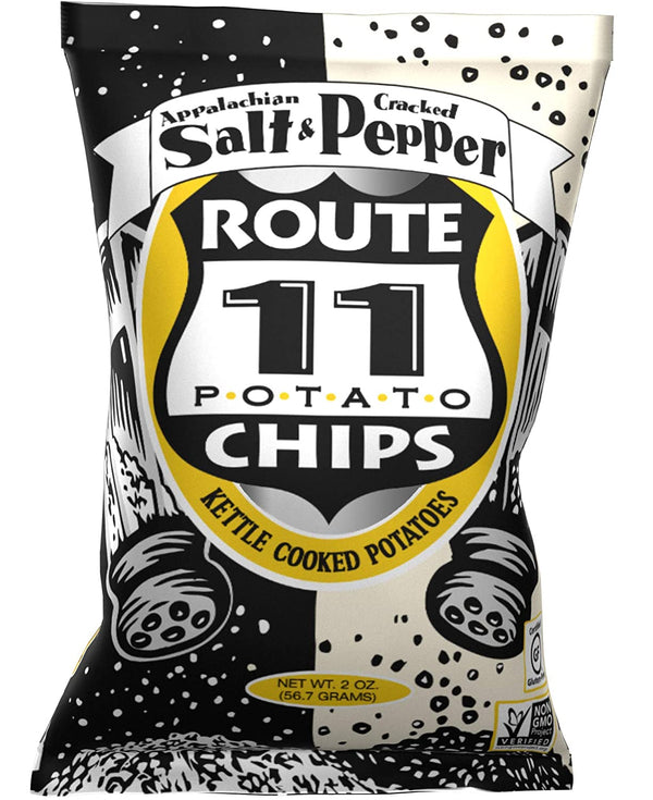 Route 11 Salt and Pepper Potato Chips