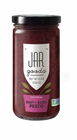 Jar Goods Beet & Basil Pesto