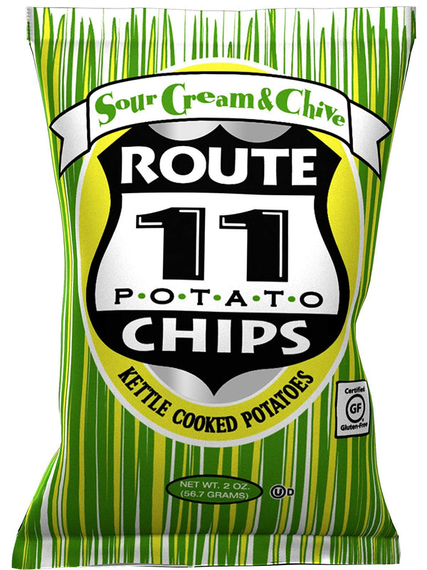Route 11 Sour Cream and Chive Potato Chips