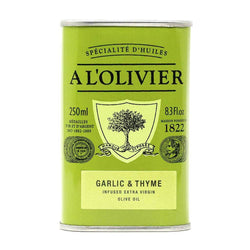 A L'Olivier Garlic & Thyme Infused Olive Oil