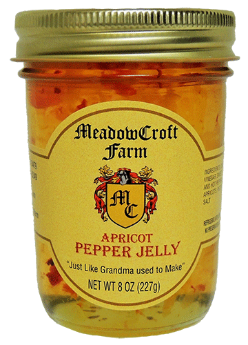 MeadowCroft Farm Apricot Pepper Jelly