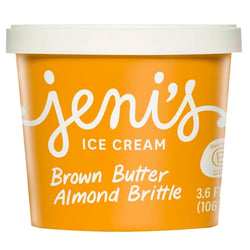 Jeni's Brown Butter Almond Brittle Ice Cream (3.6oz)