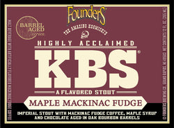 KBS Maple Mackinac Fudge - 2020 Vintage (12oz)