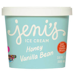 Jeni's Honey Vanilla Bean Ice Cream (3.6oz)