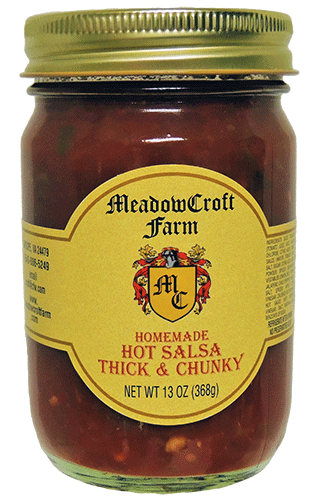 MeadowCroft Farm Hot Salsa Thick & Chunky