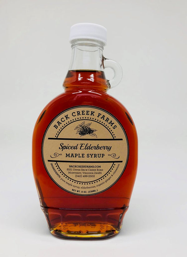 Back Creek Farms Spiced Elderberry Maple Syrup