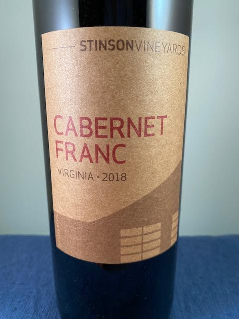 Stinson Vineyards Cab Franc