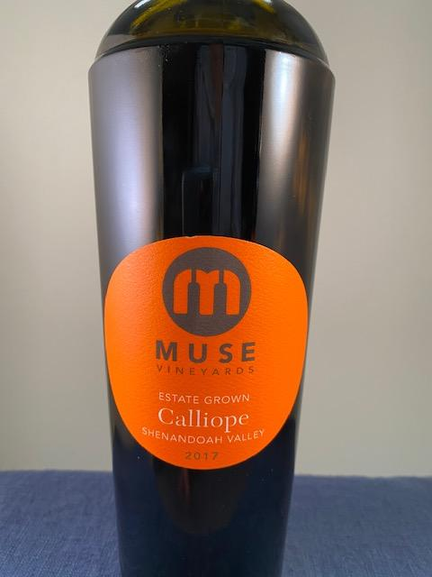 Muse Vineyards Calliope Red