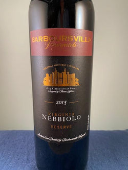 Barboursville Vineyards Nebbiolo Reserve