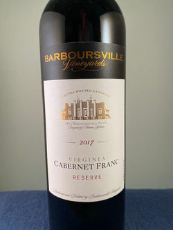 Barboursville Vineyards Cabernet Franc Reserve