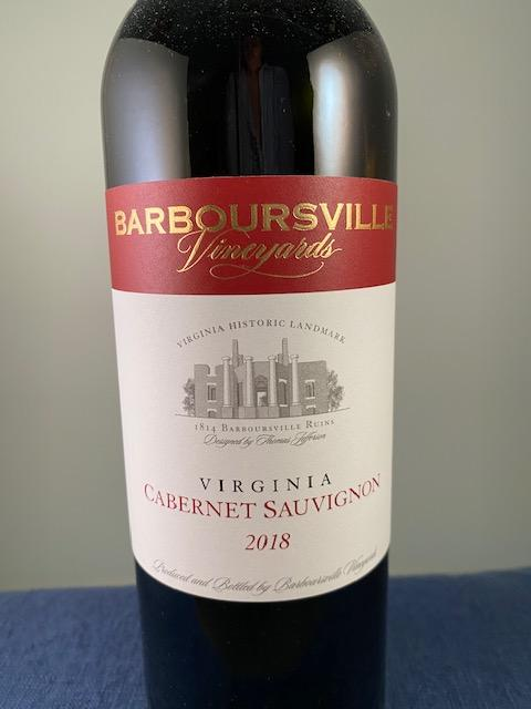 Barboursville Vineyards Cabernet Sauvignon