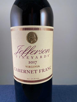 Jefferson Vineyards Cabernet Franc