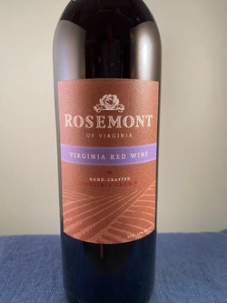 Rosemont Vineyards Virginia Red