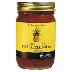 Gunther's Spicy Ginger Pineapple Salsa