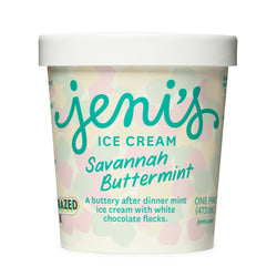 Jeni's Savannah Buttermint Ice Cream (pint)