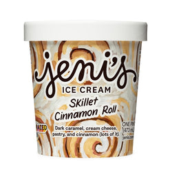 Jeni's Skillet Cinnamon Roll Ice Cream (pint)