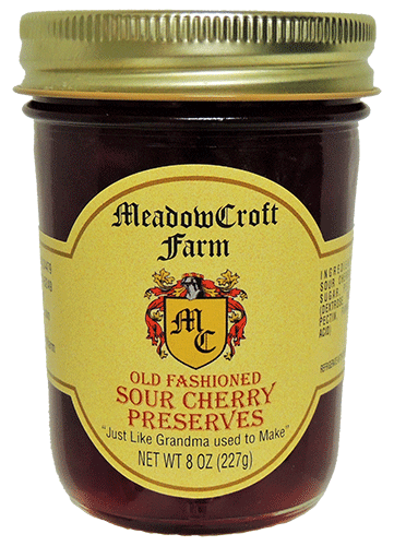 MeadowCroft Farm Sour Cherry Preserves