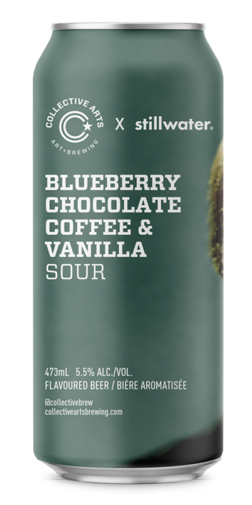 Blueberry, Chocolate, Coffee & Vanilla Sour