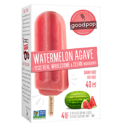 Goodpop Watermelon Agave Popsicles