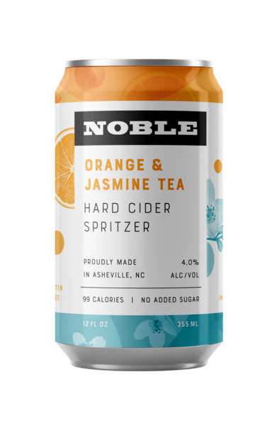 Orange & Jasmine Hard Cider Spritzer