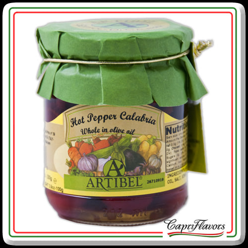 Artibel Whole Calabrian Hot Peppers