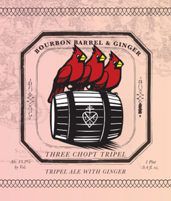 Bourbon Barrel & Ginger Three Chopt Tripel
