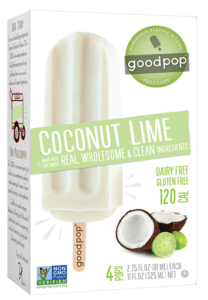 GoodPop Coconut Lime Popsicle