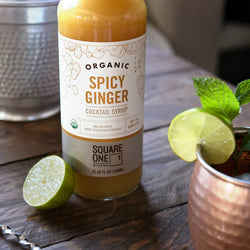 Square One Spicy Ginger Cocktail Syrup