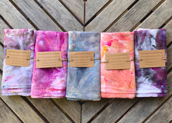 Backyard Batesville Hand-Dyed Flour Sack Dishtowel