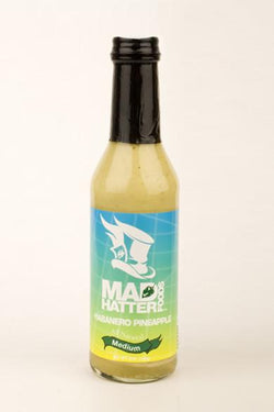 Mad Hatter Medium Habanero Pineapple Sauce