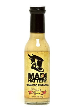 Mad Hatter Original Habanero Pineapple Sauce