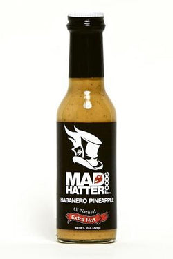 Mad Hatter Extra Hot Habanero Pineapple Sauce