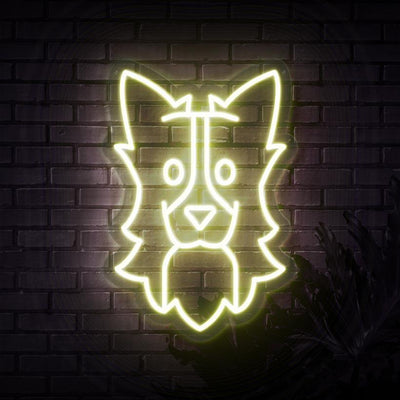 Border Collie Neon Sign