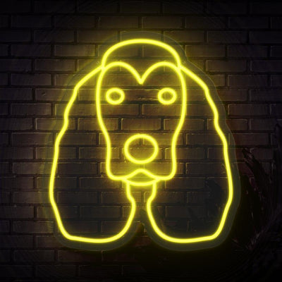 Cockerspaniel Neon Sign