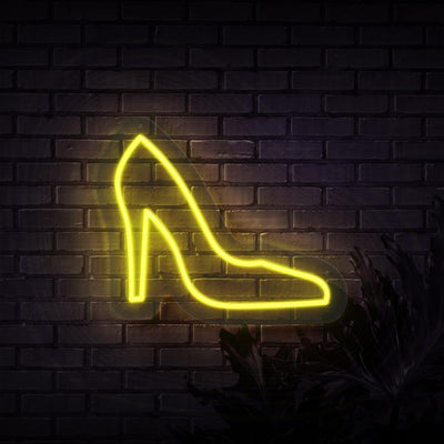 High Heel Neon Sign