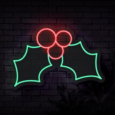Holly Neon Sign