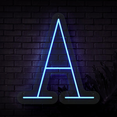 Personalized Initial Letter A Neon Sign