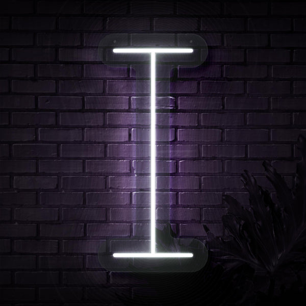 Personalized Initial Letter I Neon Sign