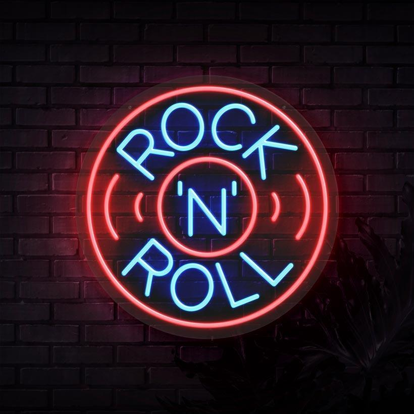 Rock N Roll Neon Sign