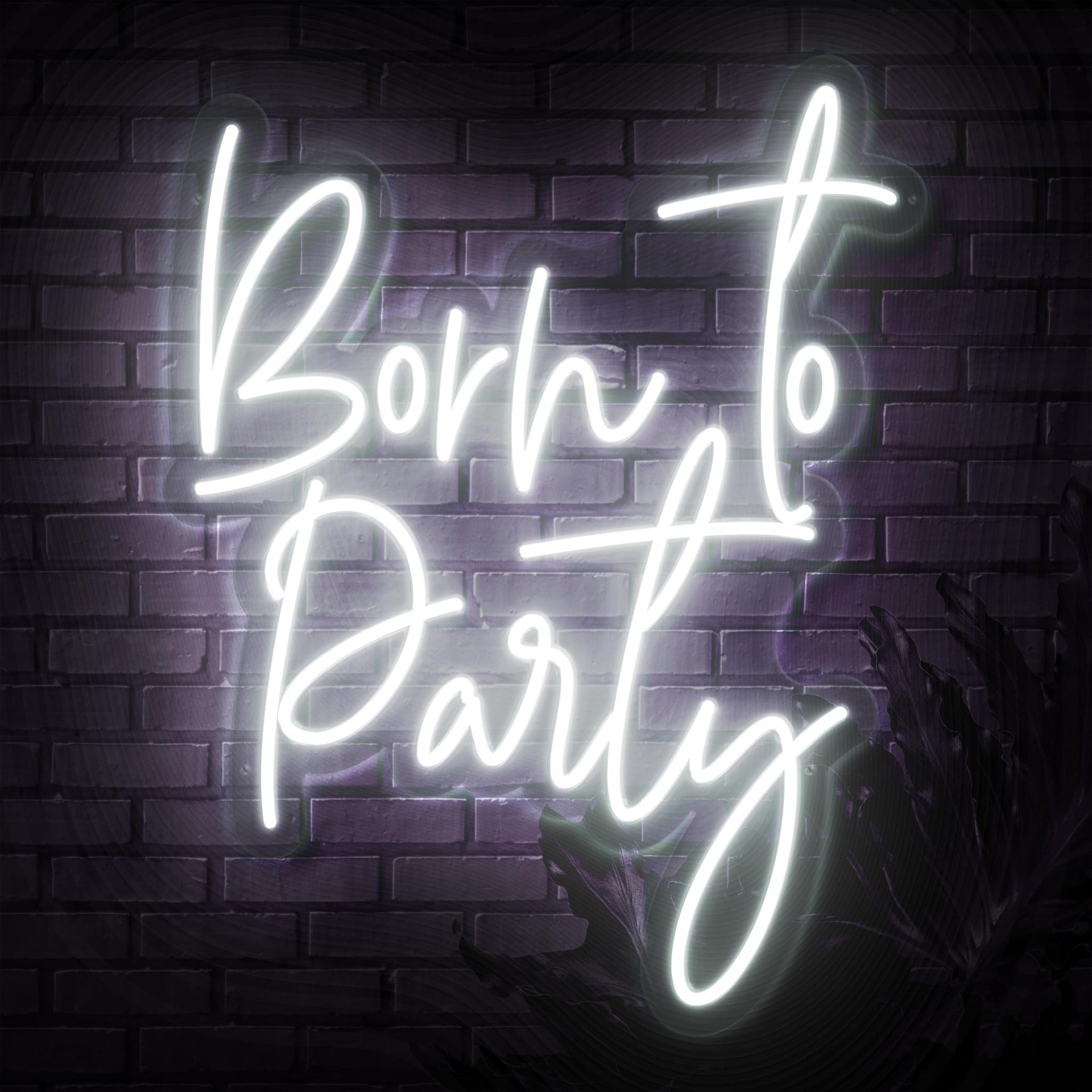 Born To Party Neon Sign - Sketch & Etch Neon
