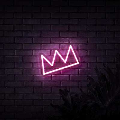 Crown Neon Sign - Sketch & Etch Neon