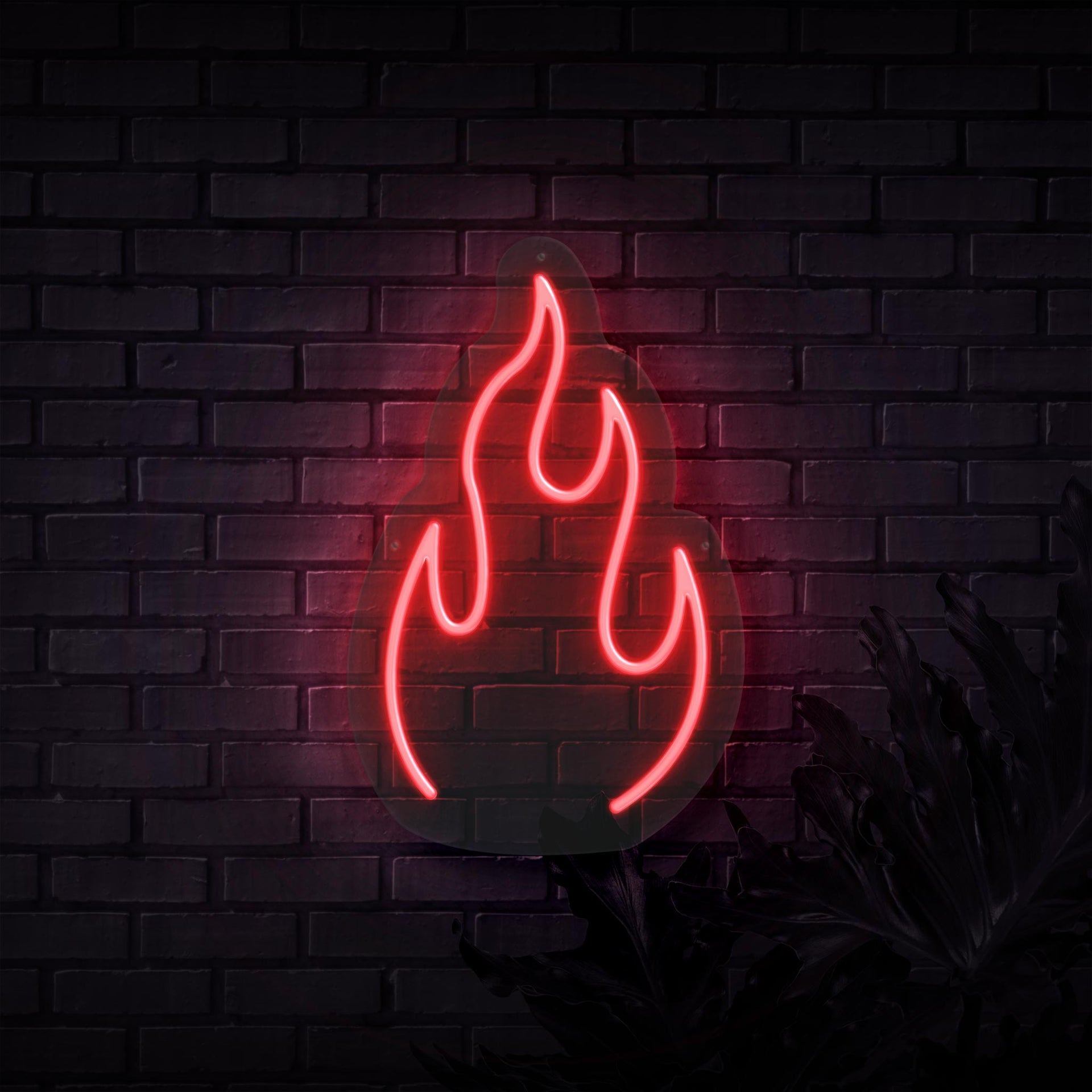 Fire Neon Sign   Sketch & Etch Neon